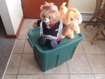 Teddy Ruxkin and Grubby in Lockport, Illinois