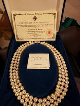 Camrose & Kross 3 strand pearl necklace in Bolingbrook, Illinois