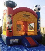 Sports bounce house fun jump in Leesville, Louisiana