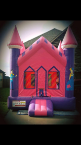 Princess Bounce House fun jump in Leesville, Louisiana