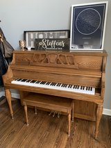 Kawai Oak Upright Piano in Yorkville, Illinois