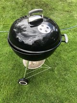 Weber charcoal grill in Naperville, Illinois