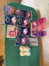 Baby girl pacifiers, bottles and booties in Fort Polk, Louisiana