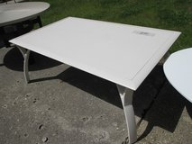 Outdoor, Soft White Coffee Table in Naperville, Illinois
