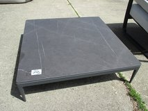 Outdoor, Low Coffee Table, Stone(?) Topped in Bolingbrook, Illinois
