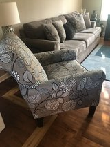 Large Sofa with Chair in Glendale Heights, Illinois