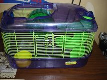 Critter Trail hamster cage with slide & wheel (no top) in Aurora, Illinois