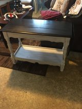 """Drop leaf table 17""""wide 36""""long with leafs down 58""""long with leafs up 26"""" tall in The Woodlands, Texas"""