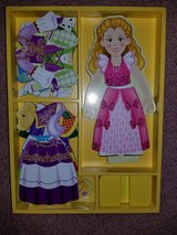 Melissa and Doug 24 PC Magnetic doll set in Tinley Park, Illinois