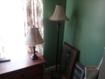 Floor lamp and matching table lamp in Macon, Georgia