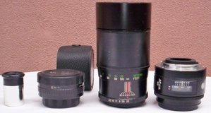 Variety of Camera Lenses for Minolta & Vivitar Cameras in El Paso, Texas