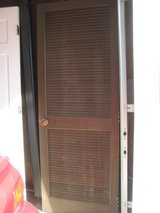 DOOR 30 X 80 louvered wooden in Aurora, Illinois