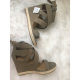 NWT Tan Wedges in Naperville, Illinois