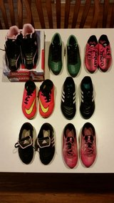 Lot of Girls Soccer Cleats and Indoor Soccer Shoes in Batavia, Illinois