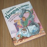 I Invited a Dragon to Dinner and Other Poems to Make You Laugh Out Loud Hard Cover Book in Morris, Illinois