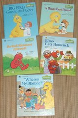 Lot of (5) RARE Vintage 80's 90's Sesame Street A Growing-Up Book A Golden Book Hard Cover in Chicago, Illinois