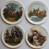 Lot of 4 Revolutionary war plates in Westmont, Illinois