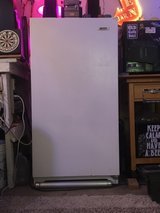 white Westinghouse stand-up deep freezer in The Woodlands, Texas