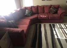 Red Sectional Couch *Moving Sale* in Camp Pendleton, California