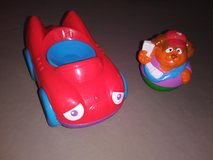 Hasbro Weeble People Bear with Car in Camp Pendleton, California