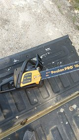 """Brand new Poulan Pro Chainsaw 16"""" bar in Leesville, Louisiana"""
