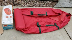 Large canvas artificial tree bag in Aurora, Illinois