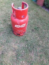 Flo gas 6kg bottle, the bottle is empty will save you paying £30.00 deposit in Lakenheath, UK