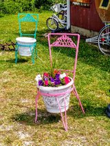 antique iron planters only 3 left hurry! in Camp Lejeune, North Carolina