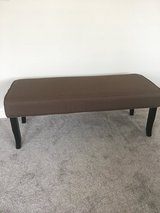 NEW upholstered bench, 48in wide x 19in deep in Camp Lejeune, North Carolina