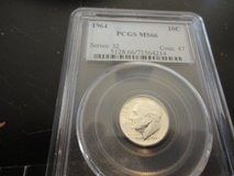 1964 ms 66  roosevelt dime in Fort Campbell, Kentucky