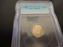 1938 ms 67 mercury dime in Fort Campbell, Kentucky