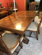 Dining Table and 6 chairs with china cabinet in Joliet, Illinois