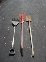 THREE ROOFING SHOVELS in St. Charles, Illinois