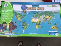 Leapfrog Leap Reader Interactive World Map in Travis AFB, California