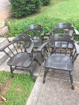 4 vintage good quality heavy chairs in Fort Campbell, Kentucky