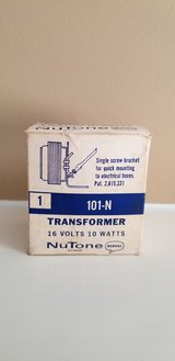 Vintage NuTone Transformer in Camp Lejeune, North Carolina
