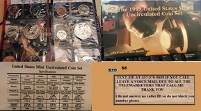 1995 us mint uncirculated coin set in Leesville, Louisiana