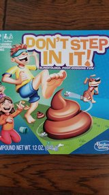 Don't step in it board game- in Kingwood, Texas