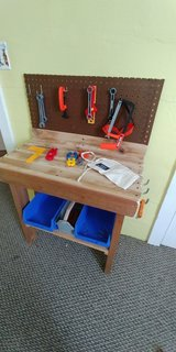 Child tool bench in Beaufort, South Carolina