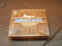 1984 Ripleys Believe It Or Not Board Game in Orland Park, Illinois