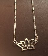Lotus Flower Necklace in Bolingbrook, Illinois