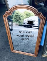 Solid Wood Mirror in Ramstein, Germany