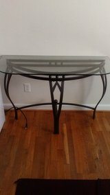 Entryway glass table in Fort Leonard Wood, Missouri