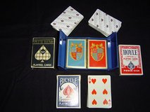 '8' decks of playing cards and poker chips - $15 in Palatine, Illinois