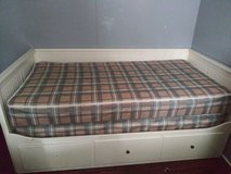 White wood day bed in Fort Knox, Kentucky