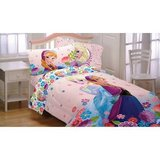 Disney twin frozen breeze complete comforter set in Hemet, California