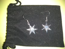 Snowflake earrings in Clarksville, Tennessee