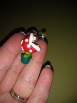 Mario piranha earrings in Clarksville, Tennessee
