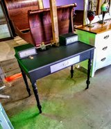 early antique chalk painted desk in Camp Lejeune, North Carolina