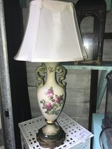 Vintage Hand Painted Lamp in Orland Park, Illinois